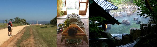 サンティアゴ・デ・コンポステーラ巡礼の旅、SPA(島すぱ@パシフィックホスピタリティグループ)、日本の温泉